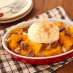 [スッキリ]1ツイートレシピ かぼちゃフレンチトースト!レンジのみ