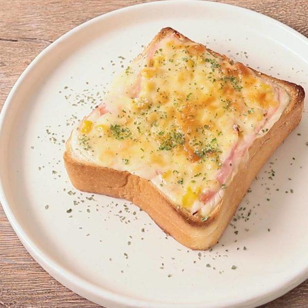 [ヒルナンデス]パン コーンポタージュトーストレシピ!に志かわ