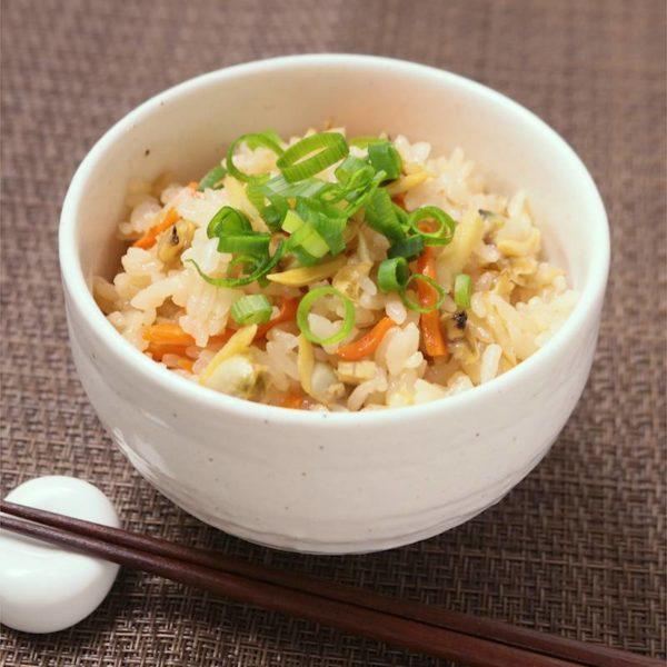 [あさイチ]パスタソースでボンゴレピラフ!炊くだけの簡単レシピ