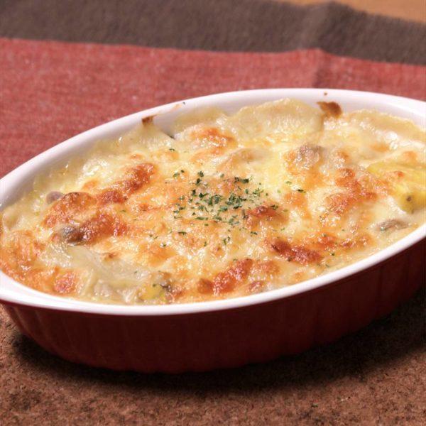 [土曜はナニする]コンビニ惣菜で作る・ごぼうグラタンレシピ!超簡単