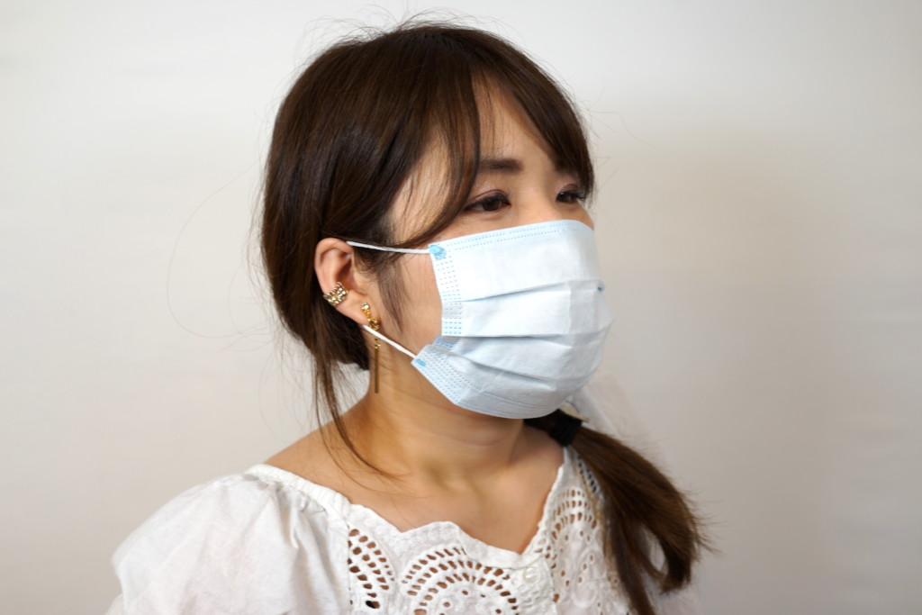 不織布マスクの正しい着け方!スパコン富岳検証 マスク1枚で効果あり